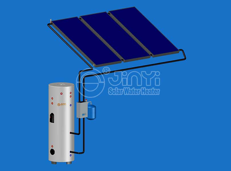 Flat Plate Solar Heating System