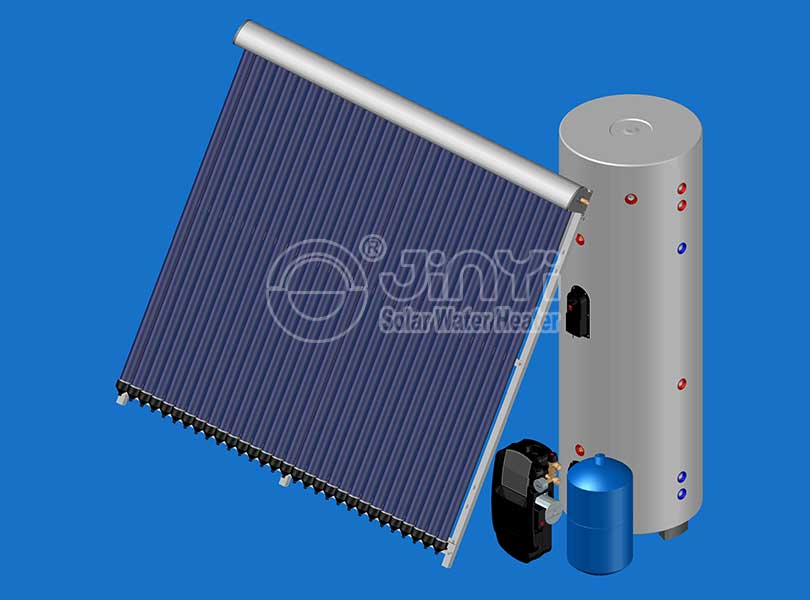Heat Pipe Solar Heating System
